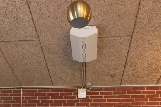 Produttore di gel sanificante per le mani installa il sistema nebbiogeno PROTECT dopo una serie di furti